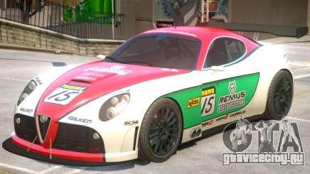 Alfa Romeo 8C V1 PJ3 для GTA 4