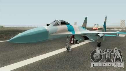 Sukhoi SU-27 (Flanker) для GTA San Andreas