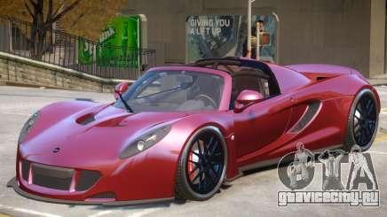 Hennessey Venom GT Roadster для GTA 4