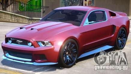 Ford Mustang V1 для GTA 4