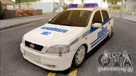 Opel Astra G Magyar Rendorseg для GTA San Andreas