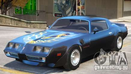1980 Pontiac TransAm для GTA 4