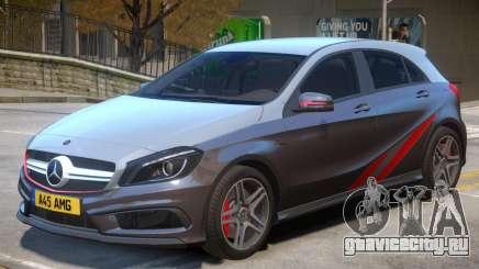 Mersedes Benz A45 V1 PJ3 для GTA 4