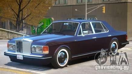 1990 Rolls Royce Silver Spirit V1 для GTA 4