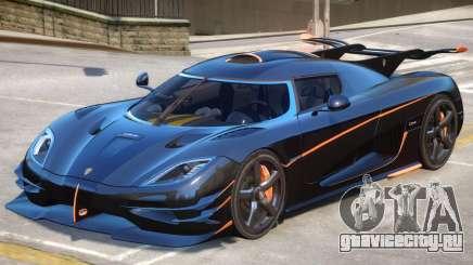 Koenigsegg One Improved для GTA 4