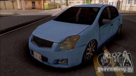 Nissan Sentra 2012 Lowpoly для GTA San Andreas