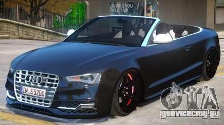 Audi S5 Cabrio для GTA 4