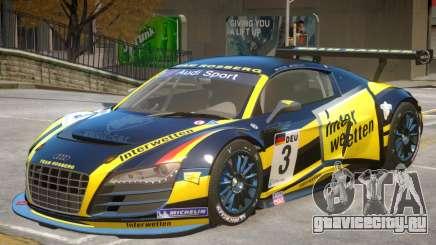 Audi R8 GT-S V1 PJ1 для GTA 4