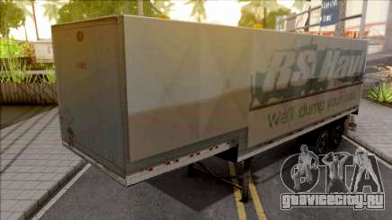 Trailer Americano v4 для GTA San Andreas