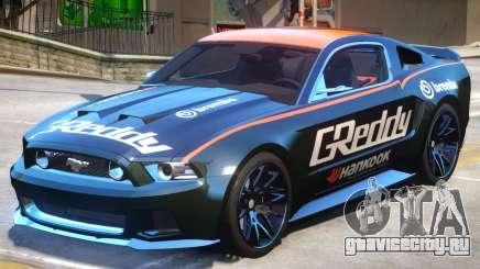 Ford Mustang V1 PJ4 для GTA 4