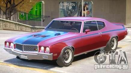 1970 Buick GSX V1 PJ для GTA 4