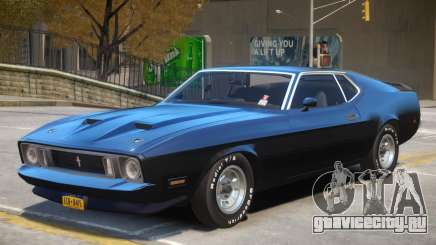 1973 Ford Mustang R2 для GTA 4