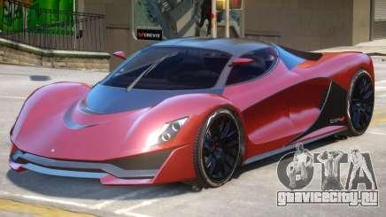 Grotti Turismo R V1 для GTA 4