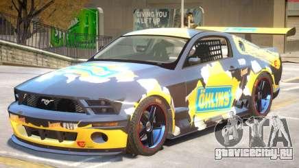 Ford Mustang GTR V1 J6 для GTA 4