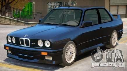 1991 BMW M3 E30 для GTA 4