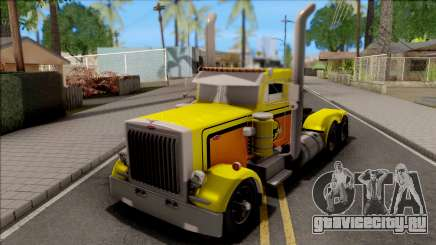 Peterbilt 379 Livingston Truck Convoy для GTA San Andreas