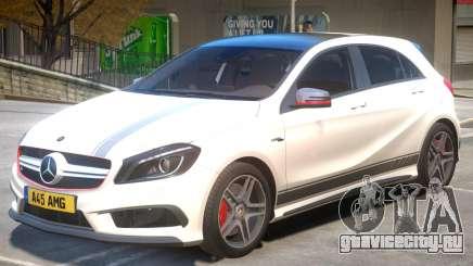 Mersedes Benz A45 V1 PJ1 для GTA 4