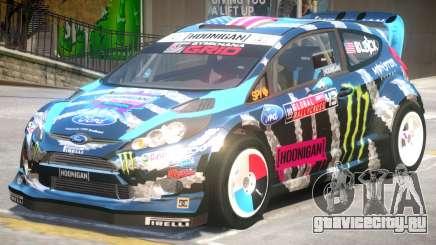 Ford Fiesta RS PJ1 для GTA 4