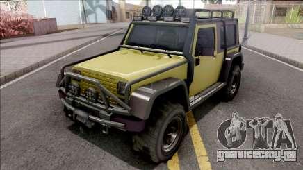 GTA V Canis Mesa Grande VehFuncs Style для GTA San Andreas