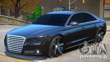 Audi A8 V1 для GTA 4