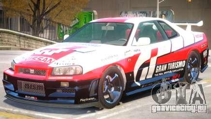 Nissan Skyline Z-tune для GTA 4