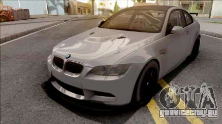 BMW M3 GTS 2010 Grey для GTA San Andreas