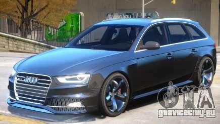 Audi RS4 Avant Sky для GTA 4