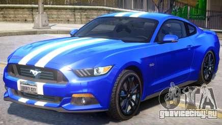 Ford Mustang GT V1.2 для GTA 4