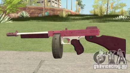 Edinburgh Gusenburg Sweeper GTA V (Pink) V1 для GTA San Andreas