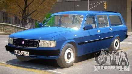 GAZ 31022 R2 для GTA 4