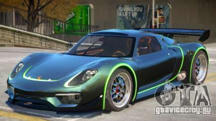 Porsche 918 RSR PJ4 для GTA 4