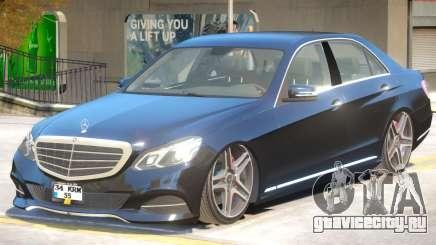 Mercedes Benz E63 V2 для GTA 4