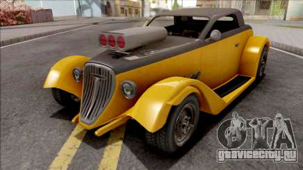 GTA V Vapid Hotknife Yellow для GTA San Andreas