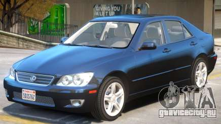 Lexus IS300 V1 для GTA 4