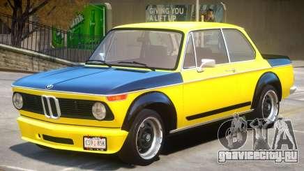 1973 BMW Turbo V1 для GTA 4