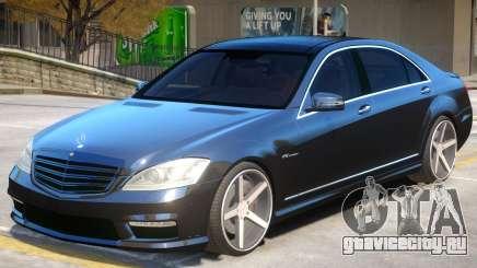 Mercedes Benz S65 Vossen для GTA 4
