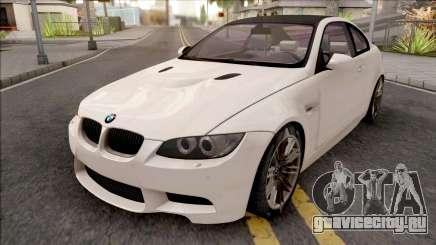 BMW M3 E92 2008 White для GTA San Andreas