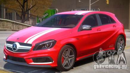 Mersedes Benz A45 V1 PJ5 для GTA 4