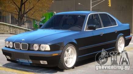 BMW 540i V1 для GTA 4