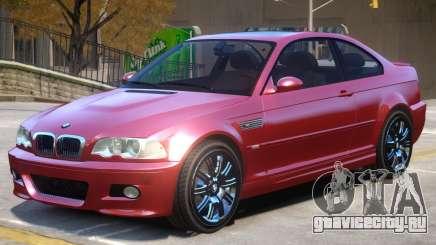 BMW M3 E46 Stock для GTA 4