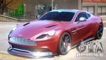 Aston Martin Vanquish V2 для GTA 4