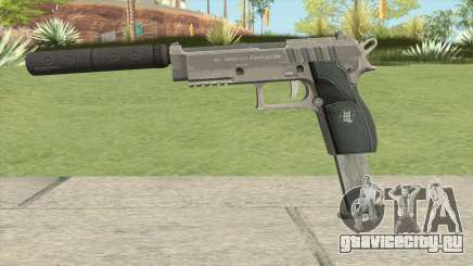 Hawk And Little Pistol GTA V Black (Old Gen) V7 для GTA San Andreas