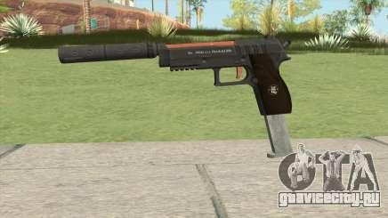 Hawk And Little Pistol GTA V (Orange) V7 для GTA San Andreas