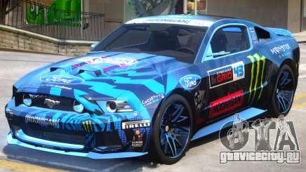 Ford Mustang V1 PJ3 для GTA 4