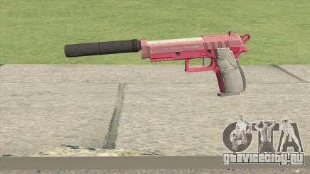 Hawk And Little Pistol GTA V (Pink) V6 для GTA San Andreas