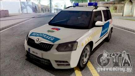 Skoda Yeti Magyar Rendorseg для GTA San Andreas
