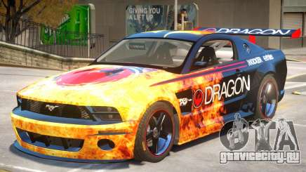Ford Mustang GTR V1 J1 для GTA 4