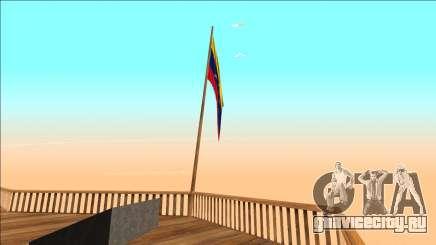 Флаг Венесуэлы на горе Чиллиад для GTA San Andreas