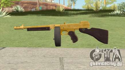 Edinburgh Gusenburg Sweeper GTA V (Gold) V2 для GTA San Andreas