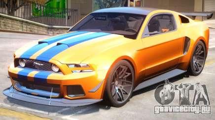 Ford Mustang GT PJ1 для GTA 4